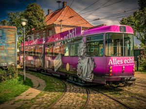 Commute by Trams